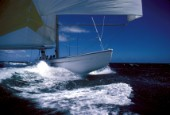 12m Kiwi Magic during the Americas Cup 1987