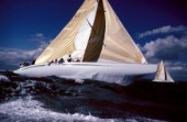 Team Kiwi Magic training - Americas Cup 1987