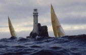 Fastnet Race and Fastnet Rock lighthouse