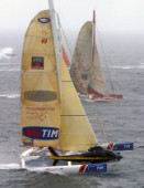 Plymouth - 31 05 2004Transat 2004Start of the race - TIM of Giovanni Soldini