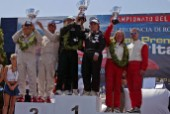 Powerboat P1 World Championships 2004 - Grand Prix of Italy. Overall Prizegiving Supersport Class: Winner - Fainplast (Italy)