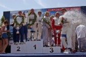 Powerboat P1 World Championships 2004 - Grand Prix of Italy. Overall Prizegiving Evolution Class: Winner - Thuraya (Italy)