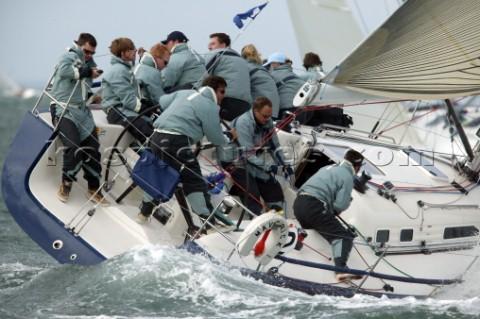 517 5766 Crew Work And Teamwork On Board An X Yacht D