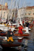75th Dragon Anniversary Regatta 2004 in St Tropez was attended by 270 keelboats. Dragons competed from all over Europe.
