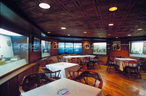 517-8453: Interior of tall ship Gloria - Kos Picture Source