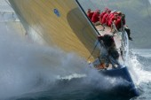 Antigua Sailing Week 2004, Reichel Puch 90 Leopard of London