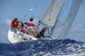Antigua Sailing Week 2005. GIRLS WITH WICKED AMBITION (DOLPHMON) - All-girl sailing team