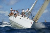 Antigua Sailing Week 2005. DISCO INFERNO II - FIRST 47.7. 2nd place Racer/Cruiser 1