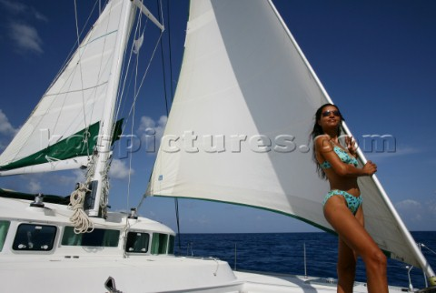 British Virgin Islands  Caribbean  Catamaran Cruising in the BVI