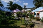 Tortola Island - British Virgin Islands - CaribbeanRoad Town, capital of BVI -Local Handicraft Shops