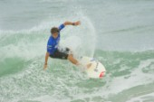 Adrian Buchan competing at the Rip Curl Championship 2005