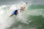 James Santos of Brasil competing at the Rip Curl Championship 2005