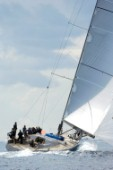 J One competing at Les Voiles de Saint Tropez 2005
