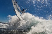 Bowman on BMW Oracle Americas Cup yacht