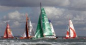 COWES, ENGLAND - August 13th: The Open 60 Class  Rolex Fastnet Race 2007