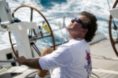 Sailing with crew onboard the Swan 100 maxi Virago built by Nautor - The Superyacht Cup 2007 Antigua in the Caribbean