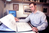 Yacht designer and naval architect Adam Lay
