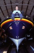 Yacht designer and naval architect Bjorn Johanssen who is part of the bembridge Lifeboat RNLI