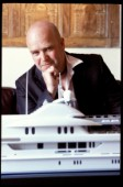 Yacht designer and naval architect Michael Leach