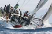 The Maxi Yacht Rolex Cup 2008, one of the main events on the yachting calendar, in Porto Cervo Sardinia