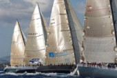 Maxi Yacht Rolex Cup 2009 is the best maxi sailing regatta in the calendar, featuring dramatic action and big sailing and racing boats on the blue water of Costa Smeralda