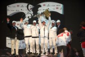 FEBRUARY 14TH 2010, VALENCIA, SPAIN: BMW Oracle, Prize Giving Ceremony of the 33rd Americas Cup in Valencia, Spain