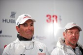 Russell Coutts and Larry Ellison winner Americas Cup
