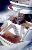 Fairline Squadron 58  Transom View