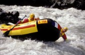 White Water Rafting on a river of rapids