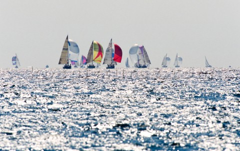 Rolex Commodores Cup 1996 The Solent Cowes Isle of Wight UK Three boat teams from around the world c