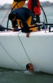 Rolex Farr 40 Worlds 2001. The Solent, Cowes, Isle of Wight, UK.