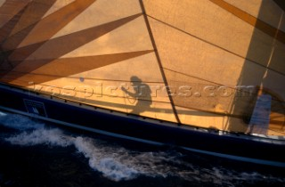 St Tropez Rolex Cup 1996. Organised by the Yacht Club de St Tropez.