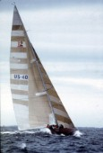 Americas Cup 1983 Newport  (USA)   Liberty skippered by Dennis Conner