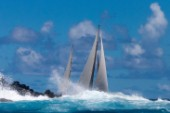 2015 St Barths Bucket Regatta  Zenji, Ketch, Perini Navi, Holland, 56, 0Day 3