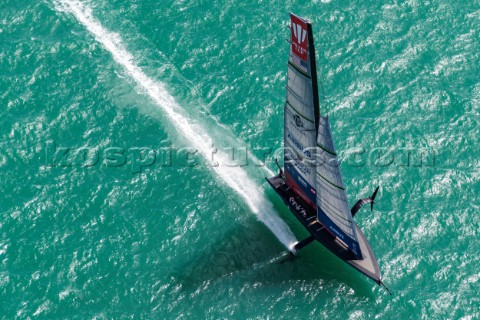 110121  Auckland NZL36th Americas Cup presented by PradaPRADA Cup 2021  Training Day 1New York Yacht