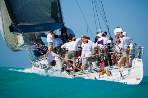 KEY WEST FLORIDA  January 16th 2007 IRC1 BonBon during racing on Day 2 of Key West Race Week 2007 on