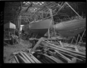 Fitting out at Camper and Nicholsons in 1939