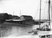 Looking across Ratsey & Lapthorn sailmakers in the 1930s