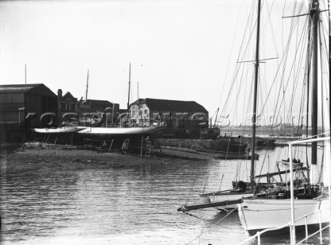 Looking across Ratsey  Lapthorn sailmakers in the 1930s