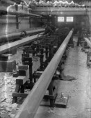 The mast shop at Camper & Nicholsons yard in Gosport in 1936