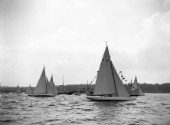 6m Regatta at Ryde, Isle of Wight, in July 1939
