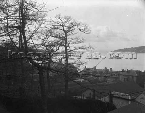 View of Robertsons yard in Scotland in 1930
