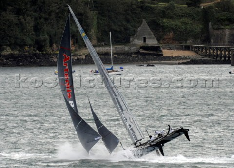 Sailing Americas Cup World Series from Plymouth in the United Kingdom