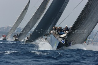 Maxi Yacht Rolex Cup, Porto Cervo, Sardinia 2010. MAGIC CARPET 2