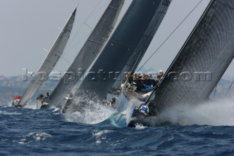 Maxi Yacht Rolex Cup Porto Cervo Sardinia 2010 MAGIC CARPET 2