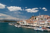 Hydra harbour, Hydra Island, Greece