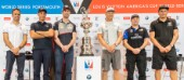 Skippers press conferenceFranck Cammas, SkipperFrancesco Bruni, HelmsmanSir Ben Ainslie, Team principal and skipperJimmy Spithill, Skipper and HelmsmanGlenn Ashby, Skipper and Sailing directorDean Barker, Skipper/CEO