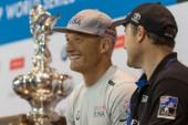 Skippers press conferenceJimmy Spithill, Skipper and Helmsman
