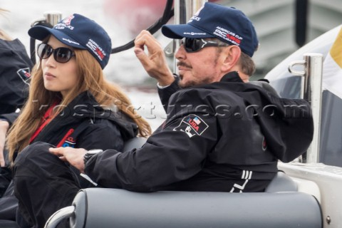 Louis Vuitton Americas Cup World Series Fukuoka Japan AC45  Larry Ellison