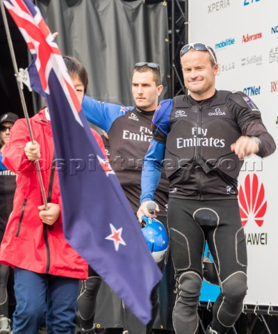 Glenn Ashby of Emirates Team New Zealand